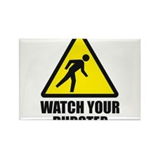 Watch your Dubstep 2c Rectangle Magnet