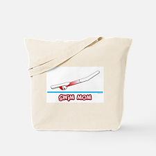 Swim Mom (girl) red suit Tote Bag