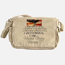 THE VETERAN!!!! Messenger Bag