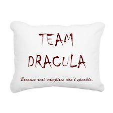 Team Dracula Rectangular Canvas Pillow
