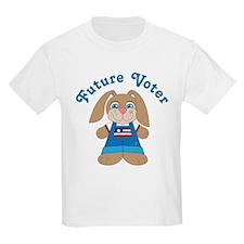 Future Voter Bunny T-Shirt
