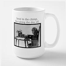 Office Chimp Large Mug