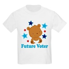 Future Voter Bear T-Shirt
