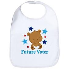 Future Voter Bear Bib