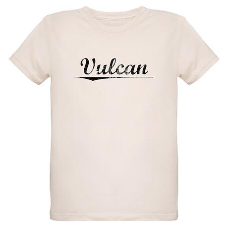 Vulcan, Vintage Organic Kids T-Shirt