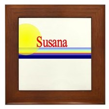 Susana Framed Tile