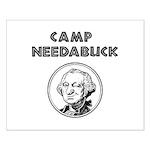 Camp Needabuck George Small Poster