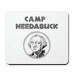 Camp Needabuck George Mousepad