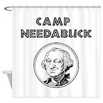 Camp Needabuck George Shower Curtain