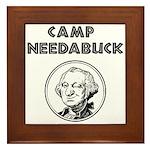 Camp Needabuck George Framed Tile