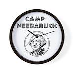 Camp Needabuck George Wall Clock