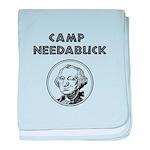 Camp Needabuck George baby blanket