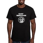 Camp Needabuck George Men's Fitted T-Shirt (dark)