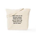 Capital Letters Jack Tote Bag