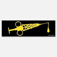 Hypo-Derrick (Yellow/Black) Sticker (Bumper)