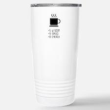 Coffee Power Up Thermos Mug
