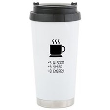 Coffee Power Up Travel Mug