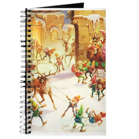 Santa's Elves in the North Pole Journal