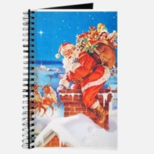 Santa Up On the Rooftop Journal