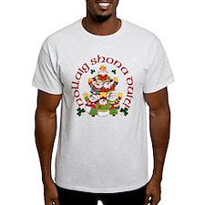 Shamrock Snowmen T-Shirt