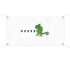 Comma Chameleon Banner