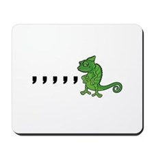 Comma Chameleon Mousepad