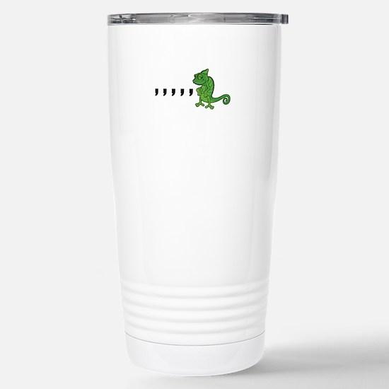 Comma Chameleon Stainless Steel Travel Mug