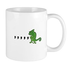 Comma Chameleon Mug