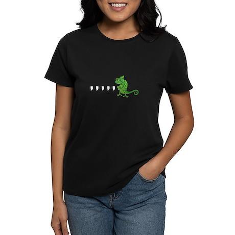 Comma Chameleon Women's Dark T-Shirt