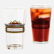 World's Greatest Executive Secretary Drinking Glas