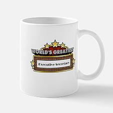 World's Greatest Executive Secretary Mug