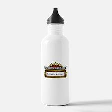 World's Greatest Executive Secretary Water Bottle
