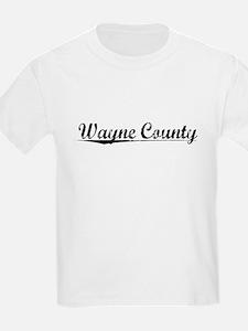 Wayne County, Vintage T-Shirt