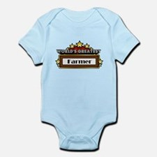 World's Greatest Farmer Infant Bodysuit