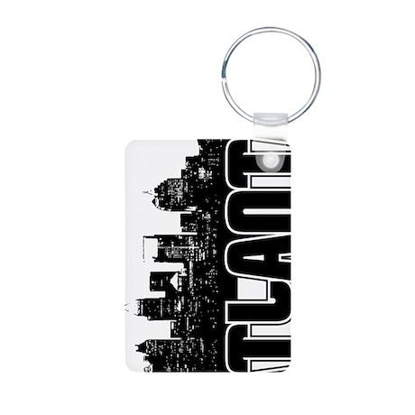 Atlanta Skyline Aluminum Photo Keychain