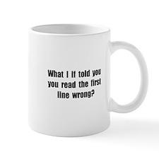 First Line Wrong Mug