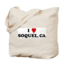 I Love SOQUEL Tote Bag