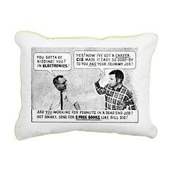 Electronics Canvas Pillow