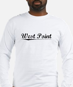 West Point, Vintage Long Sleeve T-Shirt