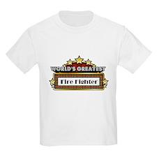 World's Greatest Fire Fighter T-Shirt