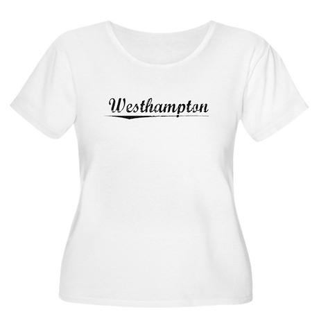 Westhampton, Vintage Women's Plus Size Scoop Neck