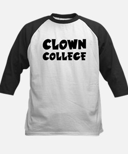 Clown College - Humor Kids Baseball Jersey