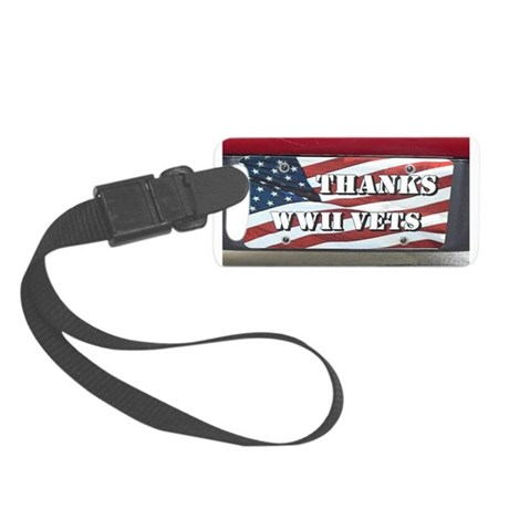 WWII Small Luggage Tag