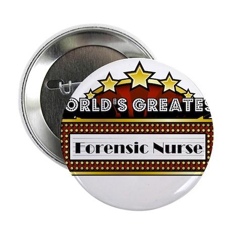 "World's Greatest Forensic Nurse 2.25"" Button"