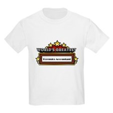 World's Greatest Forensics Accountant T-Shirt