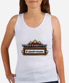 World's Greatest Handyman Women's Tank Top