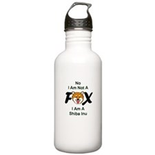 No I Am Not A Fox Water Bottle