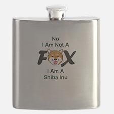 No I Am Not A Fox Flask