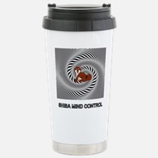 Shiba Mind Control Stainless Steel Travel Mug