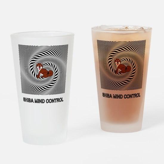 Shiba Mind Control Drinking Glass